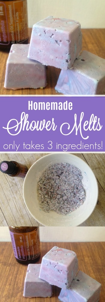Try these shower melts the next time you need some relaxation! They only take 3-ingredients and are luxurious!