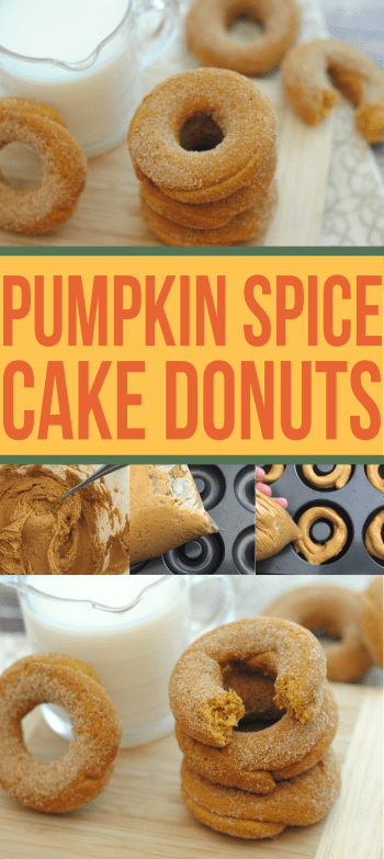 The easiest Pumpkin Spice donuts you will ever make! They come out perfect every time!