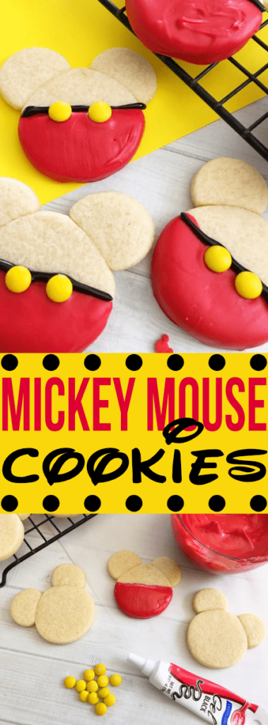 These homemade cookies are inspired the main mouse - MICKEY! So easy your kids can help - they will love 'em too!